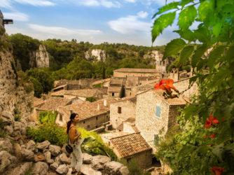 Le village classé de Labeaume