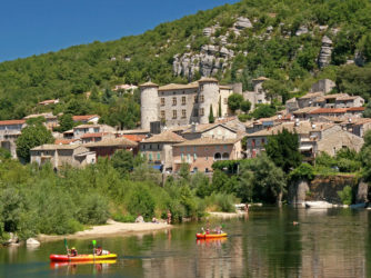 Vogüé classé Plus beau village de France