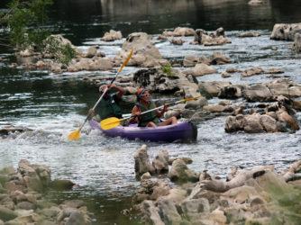 Le canoë, activité incontournable du Sud Ardèche