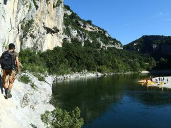 Randonnée dans les Gorges de l'Ardèche