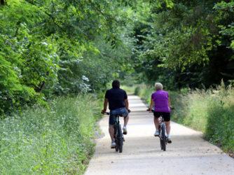 Pratiquez le vélo en toute sécurité sur la Via Ardèche