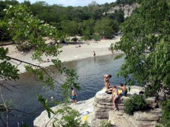 Les rivières offrent de nombreux spots de baignade