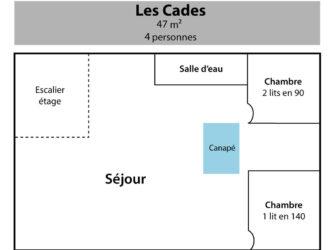 Les Cades S/C Home